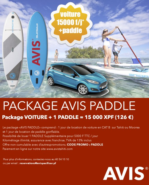 Package AVIS Stand Up Paddle
