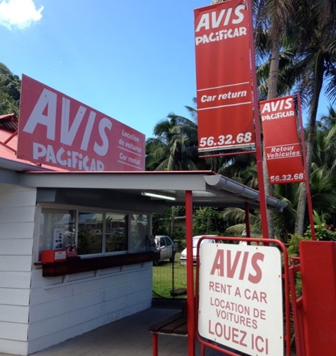 Rental Car Location: Avis Tahiti Car Rental Locations In Tahiti And Moorea