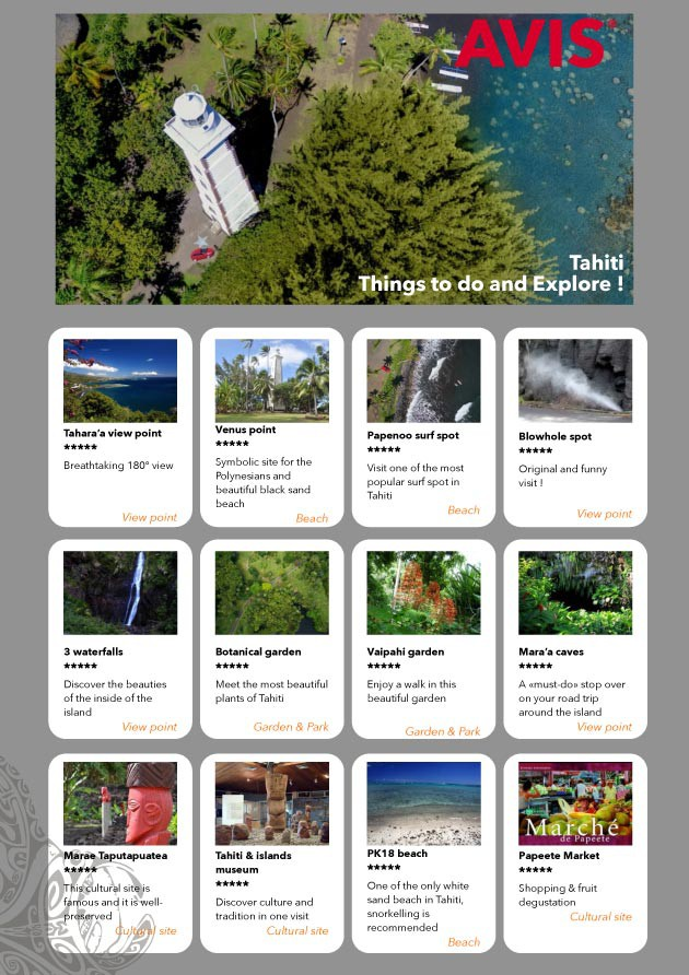 Tahiti Guide Tour